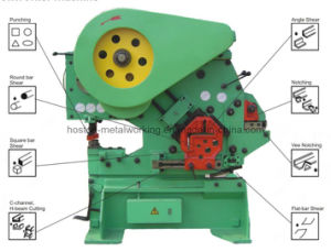 Miw-63 Mechanical Iron Worker Punching and Shearing Machine