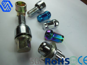 Hot Sell Color Zinc-Plated Wheel Lug Bolts pictures & photos