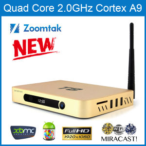 3D 4k2k T8 Android TV Box with Gotham Xbmc pictures & photos