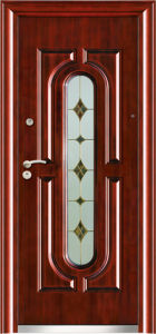 Wrought Iron Glass Entry Door (WX-LSG-111) pictures & photos