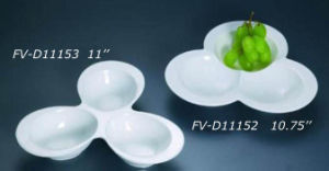 Porcelain 3in1 Dish (FV-D11153)