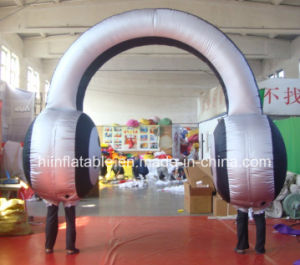 2015 Earphone Inflatable Arches pictures & photos