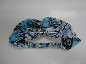 Girl′s Chiffon Rosette Stretch Headband pictures & photos