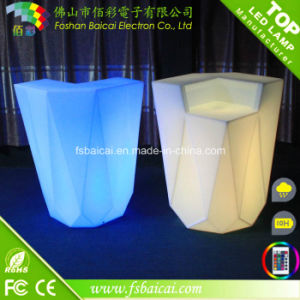 2014 New Design LED Bar Table