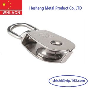 Precision Casting Swivel Eye Pully Single Sheave for Building Material pictures & photos