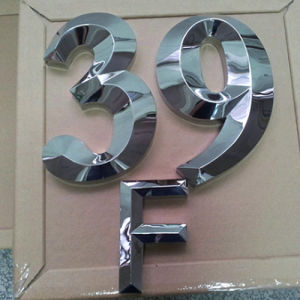 3D Channel Letter Stainless Steel Letter Display Stand pictures & photos
