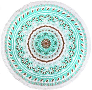 Customized Round Beach Towel pictures & photos