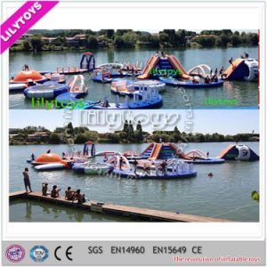 2017 Newest High Quality PVC Floating Adult Water Park Inflatable Aqua Park for Sea (J-water park-133) pictures & photos