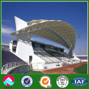 Large Prefabricated Steel Structure Stadium and Football Pitch pictures & photos