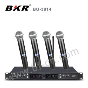 Bu-3814 Four Channel Wireless Table Microphone pictures & photos