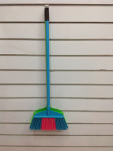 Colorful and Good Quality Plastic Broom (SQ-115) pictures & photos