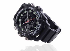 Camera Watch 1080p Waterproof Micro 4LED for Night Vision Video Surveillance 4GB-16GB (QT-IR010) pictures & photos