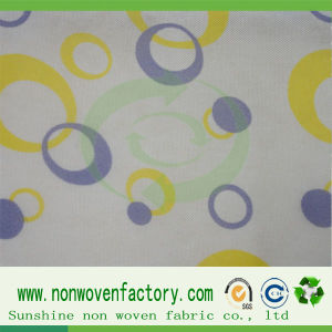New Design Printed PP Spunbond Non Woven Fabric pictures & photos