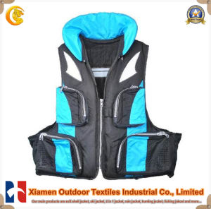 Bright Colored Safety Fishing Functional Vest
