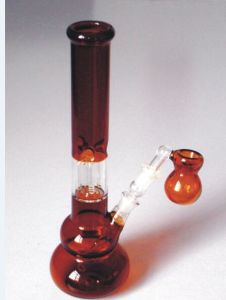 12inch Regular Amber Glass Water Pipes with 4 Arm Perc pictures & photos