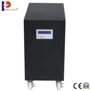 DC 48V Input AC 220V Output 6kw Pure Sine Wave Power with Charger Low Frequency