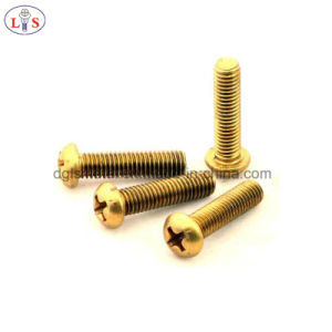 Brass Cross Recessed Pan Head Bolt/Machine Screw pictures & photos