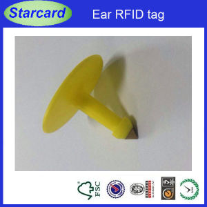 2015 Newest Et907 Ear RFID Tag for Pig Checking pictures & photos