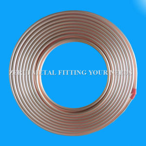 Ce Certified Pancake Coiled Copper Tube for Split AC pictures & photos