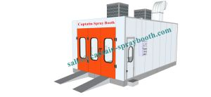 Ceiling Filter Auto Spraying Rooms, Customized Side Draft Paint Booth pictures & photos