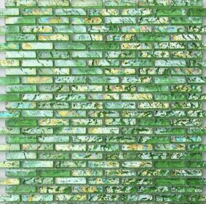 Strip Glass Mosaic Tile pictures & photos