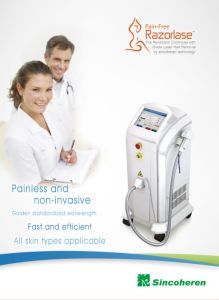 High Power 808 Diode Laser Hair Removal Painless Treatment pictures & photos