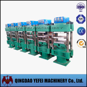 Rubber Tile Making Vulcanizing Press Machine pictures & photos