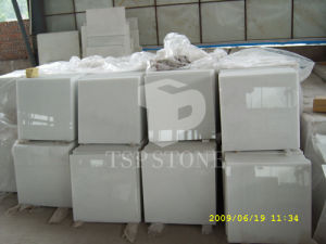 Natural Crystal White Marble Tile pictures & photos