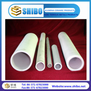 High Purity Alumina Ceramic Tubes Used for High Temperature Furnace pictures & photos