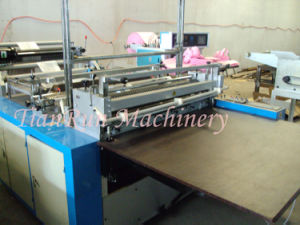 Single-Layer Heat-Sealing Cold-Cutting PE Plastic Bag Making Machine (TR-CC600) pictures & photos