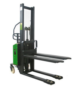Semi-Electric Stacker with Fixed Fork pictures & photos