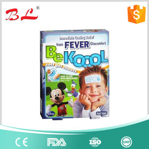Health Care Cooling Gel Patch for Baby and Adult/Relief Fever pictures & photos