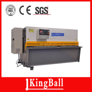 Ce Certification CNC Hydraulic Guillotine Shearing Machine pictures & photos