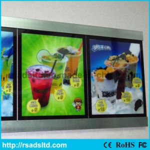 Ce Quality Menu Light Box for Fast Food Restaurant pictures & photos