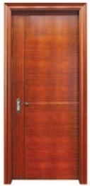Liner Interior Flush Wooden Door for Living Room pictures & photos