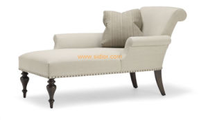 (CL-6627L) Classic Villa Hotel Room Furniture Fabric Leisure Sleeping Lounge pictures & photos