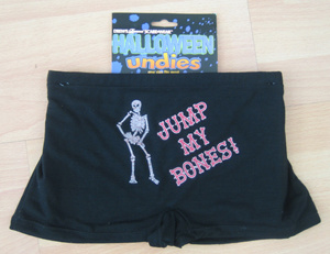 Holiday Spandex Undies with Logo Printing (PM089) pictures & photos