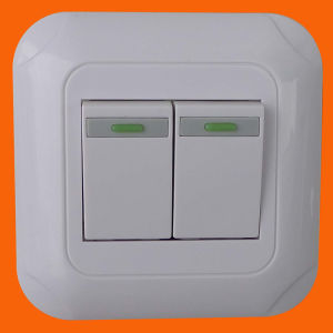 European Style Flush Mounted Wall Button Switch (F5002) pictures & photos