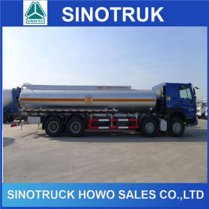 Sinotruk 12 Wheeler 30m3 Disel Fuel Oil Tanker Tank Truck pictures & photos