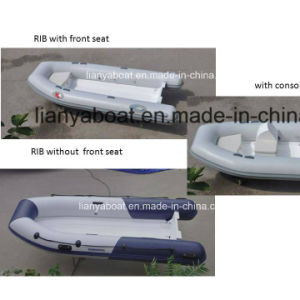 Liya 2.4-4.2m Cheap Inflatable Boat Dinghy Tender with Motor pictures & photos