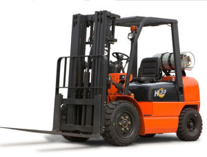 2017 Hot Selling 3ton Hydraulic Gasoline Forklifts pictures & photos