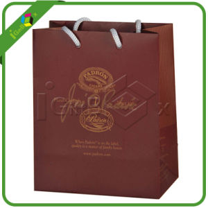 Full Color Printing Paper Shopping Bags with Handle pictures & photos
