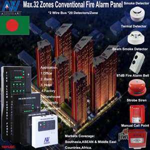 Plug & Play 24V Fire Alarm Control Panel System pictures & photos