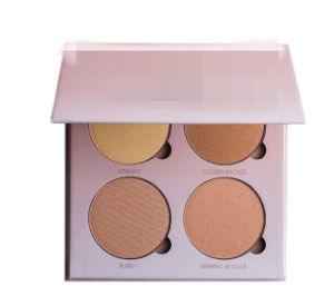 4 Color Glow Kit Bronzing Powder Foundation Powder for Makeup pictures & photos