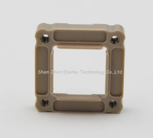 Plastic Frame Peek Machined Components pictures & photos
