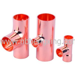 Copper Reducing Tee for Plumbing, Air Conditioning pictures & photos