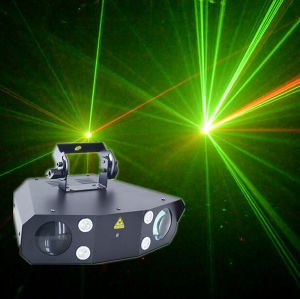Laser+ Strobe+Derby Effect 3in1 DJ Light/ LED Effect Lighting pictures & photos