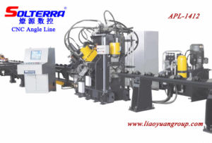 CNC Angle Stamping, Punching & Shearing Production Line (APL-1412)