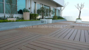 Eco-Friendly Wood Plastic Composite WPC Garden Decking Flooring pictures & photos