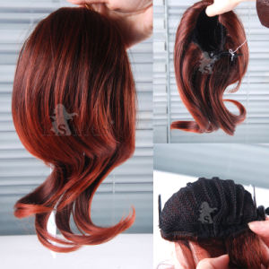 Top Grade Japanese Kanekalon Synthetic Ponytail Hair Extension pictures & photos